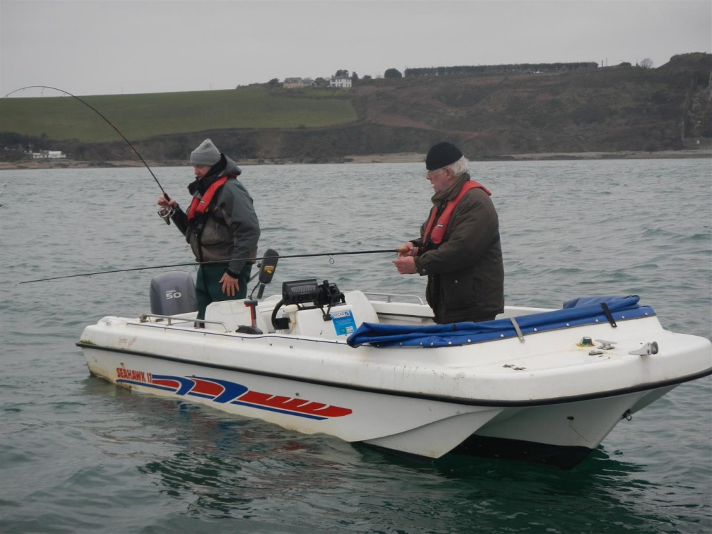 Richie Ryan - Cork based guide gets to grips with some Cork cod!