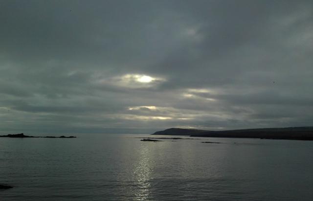 Bullen's Bay - In January